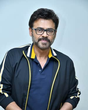 Venkatesh - F2 Telugu Film Trailer Launch Photos