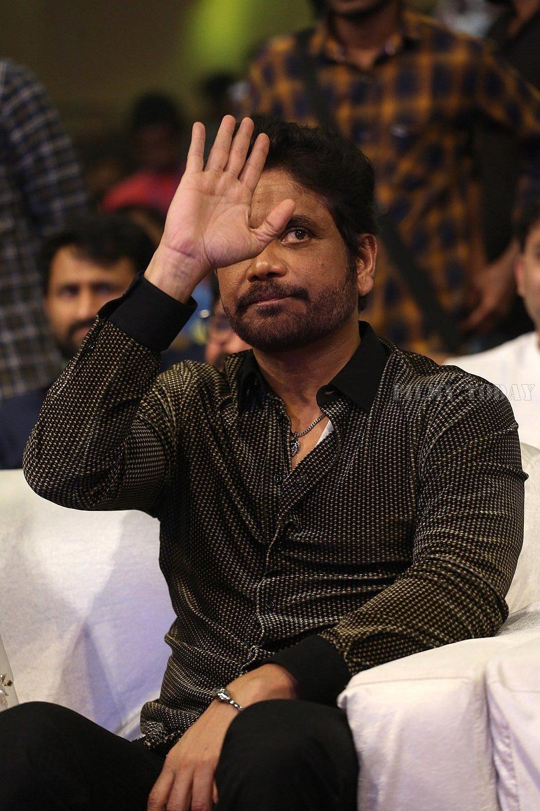Nagarjuna Akkineni - Mr. Majnu Telugu Movie Pre Release Event Photos   Picture 1621388