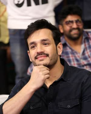 Akhil Akkineni - Mr. Majnu Telugu Movie Pre Release Event Photos