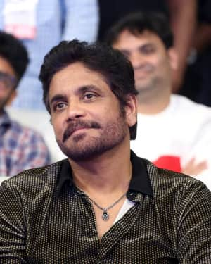 Nagarjuna Akkineni - Mr. Majnu Telugu Movie Pre Release Event Photos