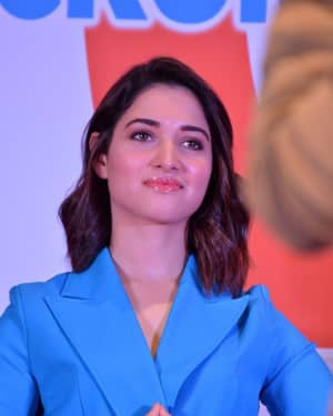 Tamanna Bhatia - F2 Telugu Film Success Meet Photos