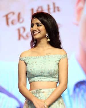 Priya Prakash Varrier - Lovers Day Telugu Film Audio Launch Photos