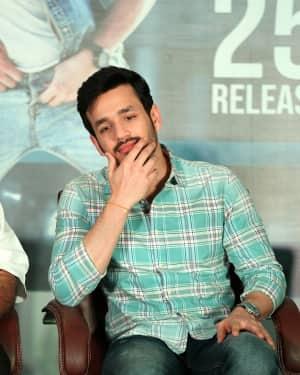 Akhil Akkineni - Mr. Majnu Movie Pre Release Press Meet Photos