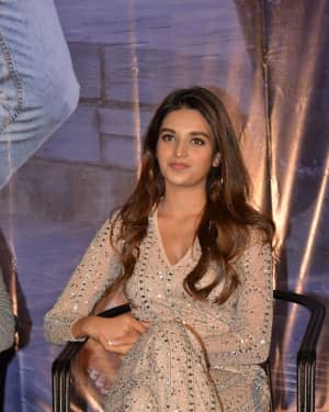 Nidhhi Agerwal - Mr. Majnu Telugu Movie Press Meet Photos