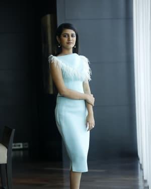 Priya Prakash Varrier - Interview With Lovers Day Movie Team Photos