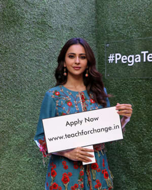 Rakul Preet Singh - Teach for Change Launches Nationwide Programme Photos